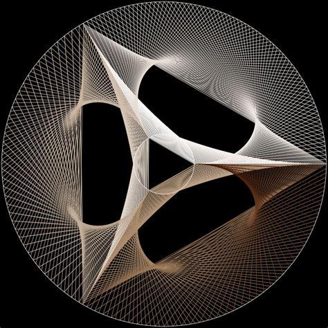 String Triangle - stringart