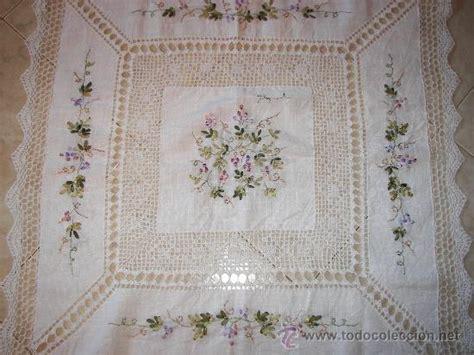 bordados para manteles manteles bordado en cinta imagui ideas para el hogar