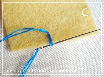 Blanket Stitch Step By Step by How To Do Blanket Stitch