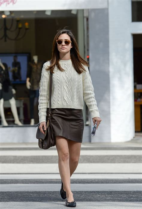 Style Emmy Rossum by Emmy Rossum Casual Style Out In Brentwood November 2015