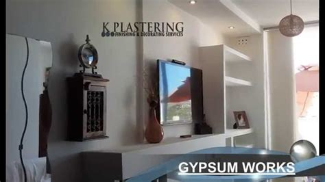 Ceilings And Walls Malta gypsum works plastering painting and much more youtube