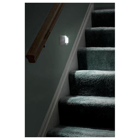 motion sensor stair lights 2 pk of wireless motion sensor led stair lights