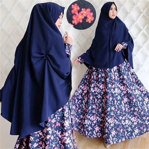 Baju Gamis Vania Syari Bw Navy Terbaru baju gamis syari warna hitam gamis murni