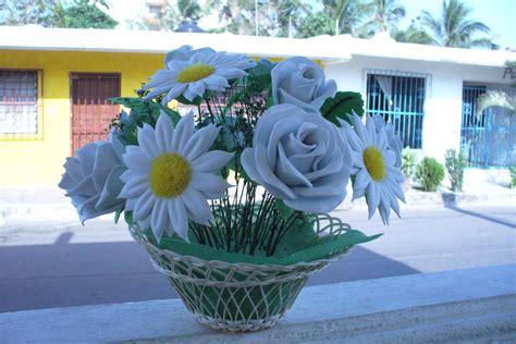imagenes de flores fomix dibujos de flores en foami imagui