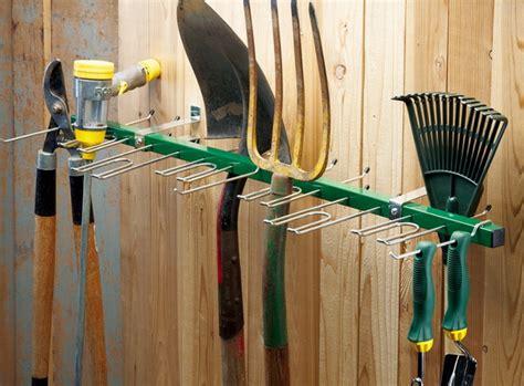 New 38 Quot Wall Mounted Garden Tool Rack Organizer Garage Garden Tool Wall Storage