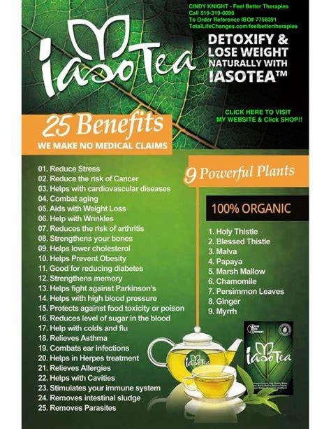 Iaso Tea Detox Plan by Iaso Tea