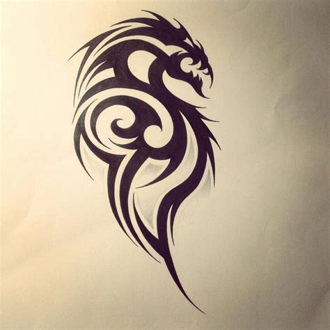 awesome dragon tattoos awesome tribal designs tribal tattoos