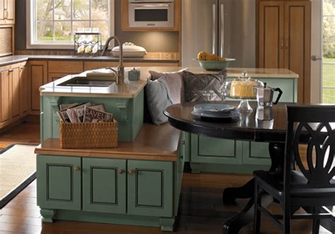 kitchen island seating island cabinets kabco kitchens