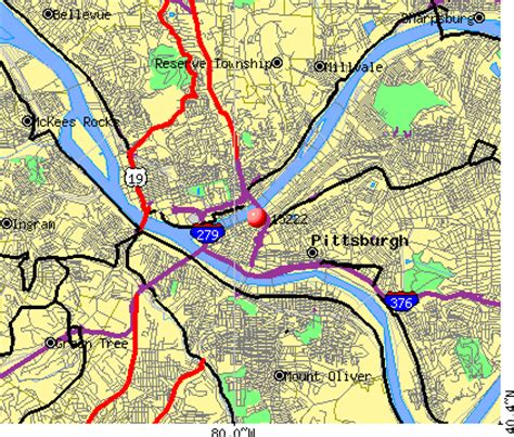 pittsburgh zip code map pittsburgh zip code map images