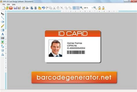 how to design identity card in photoshop id card template psd free download