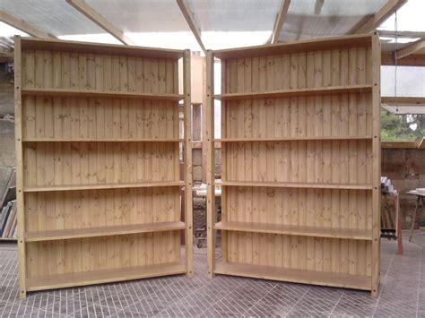 costruire scaffale in legno fai da te hobby legno scaffale