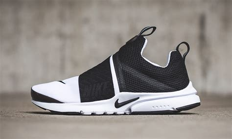 Sepatu Nike Presto Slipon Black White nike air presto slip on