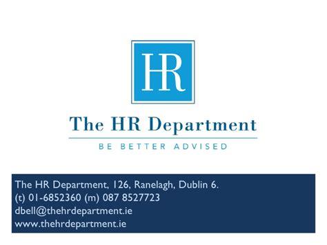 the hr department presentation 2011