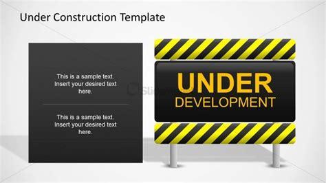 underconstruction template development slide design slidemodel