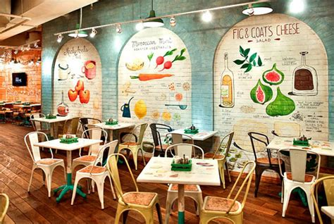 680 best vintage outdoor wall advertising art images obed buffet un restaurant design inspir 233 par la nature design feria