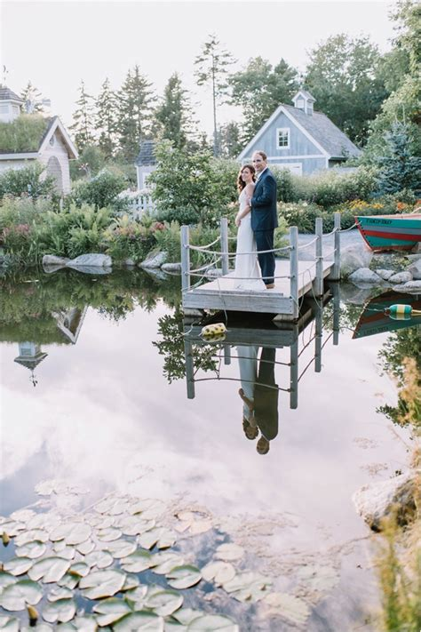 Coastal Maine Botanical Gardens Weddings Rachael Coastal Maine Botanical Gardens Wedding Boothbay Photography