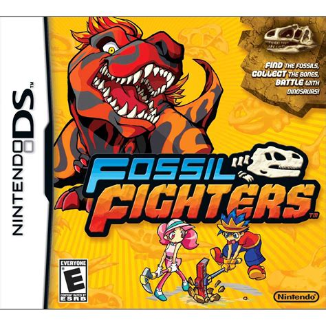 fossil fighters fossil fighters ds