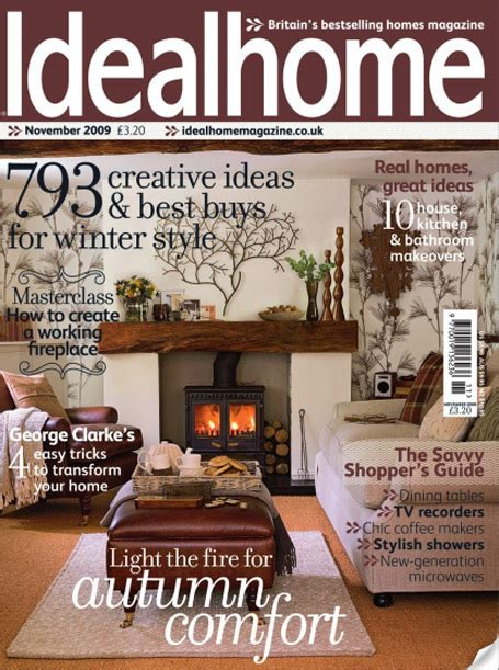 house magazines clean lines and retro styling as seen in ideal home