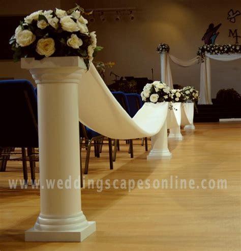 Photo Gallery   Wedding columns, Display Columns, Plastic