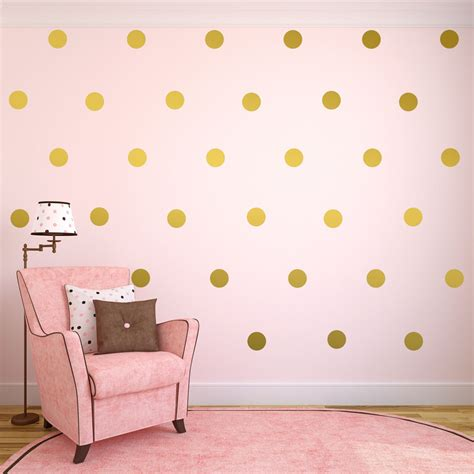 polka dot wall decals for rooms gold wall decals gold polka dots wall decor gold confetti