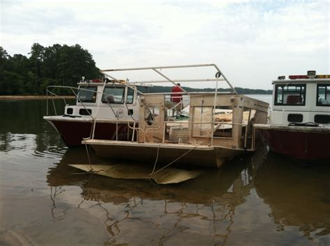 boat salvage yards north georgia video team effort meets success in removing abandoned