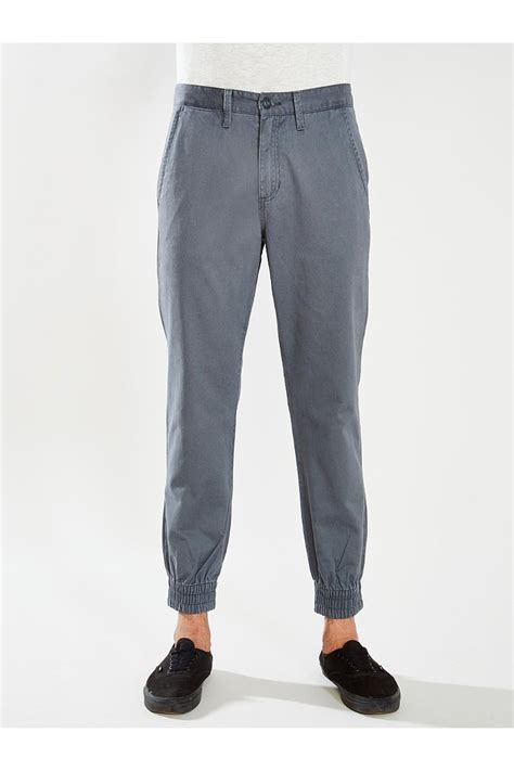 Jogger Ppant Motif Fit L Gd lyst vans excerpt pegged jogger pant in gray for