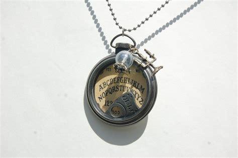 ouija board necklace spirit board pendant