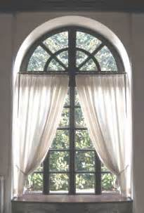Curtains For Palladian Windows Decor Palladian Curved Top Arched Window Treatment Curtain Ideascurtains Interiordezine