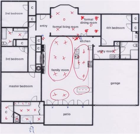 floor plan with electrical layout the flip day 23 it s great to be home