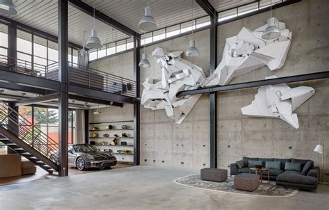 industrial house interior 240 sqm duplex apartment transformed into a contemporary colourful family space