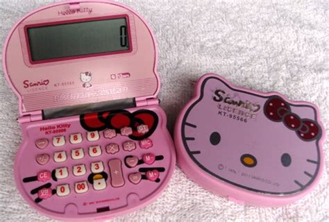 Kalkulator Hk Hello Sanrio Calculator Pink kalkulator hk lipat