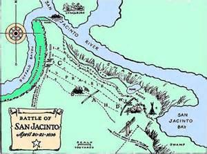 san jacinto map the battle of san jacinto