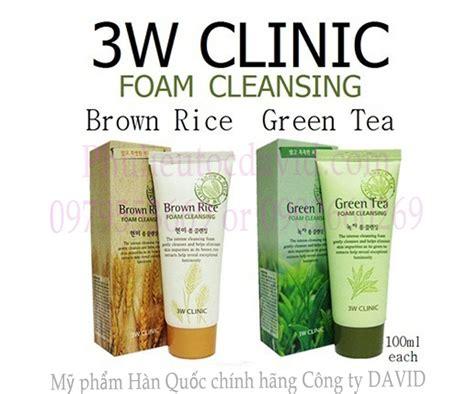David S Tea Organic Detox Green Tea by Sữa Rửa Mặt 3w Clinic Tr 224 Xanh Green Tea Foam Cleansing