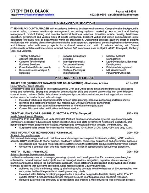 sle account executive resume 59 best images about best sales resume templates sles