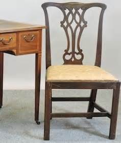 single 19th century chinese chippendale side chair at 1stdibs early 19th century chippendale style chair chairs