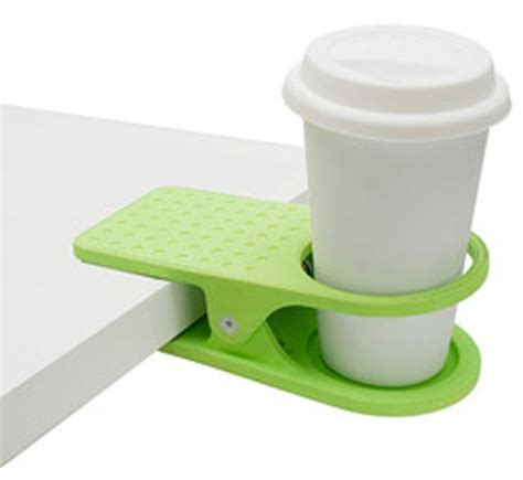 clip on cup holder for desk desk cup holder genius dorm ideas pinterest
