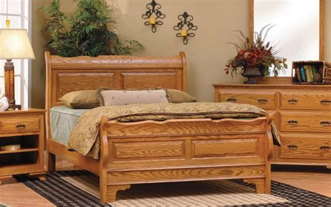 solid oak bedroom sets oak only northeastern pa real wood furniture usa
