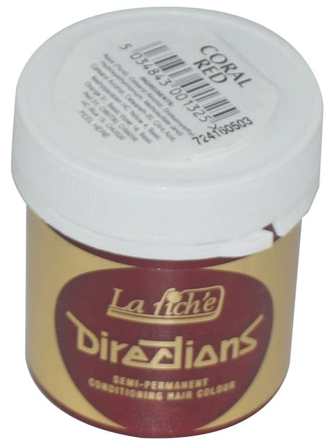 directions semi permanent hair dye colour from la riche la riche directions semi permanent hair dye choose your