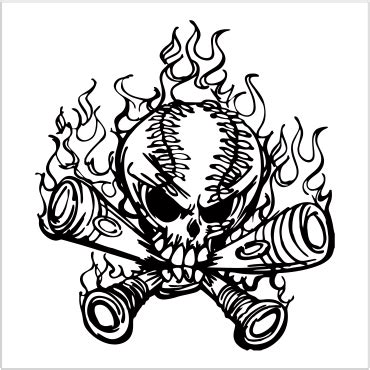 membuat logo hitam putih mendesain untuk film sablon kaos manual di coreldraw