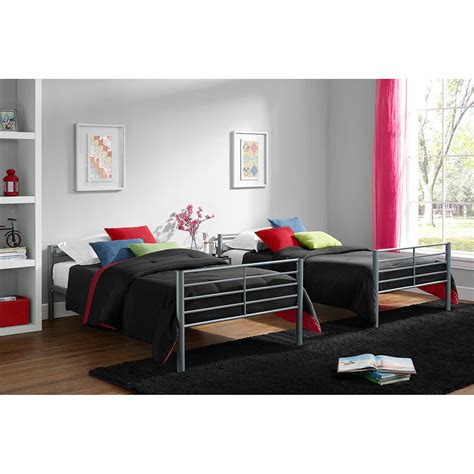 twin over twin convertible loft bunk bed mainstays twin over twin convertible metal bunk bed