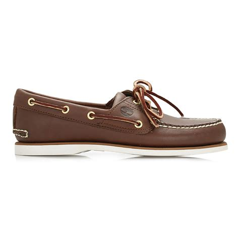 timberland boat shoes vintage timberland classic men dark brown leather boat casual
