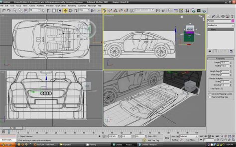 tutorial autocad to 3ds max 3ds max tutorial car modeling hd part 1 youtube