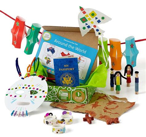 subscription craft boxes for kids in india rivokids blog around the world discovery box kids geography gifts