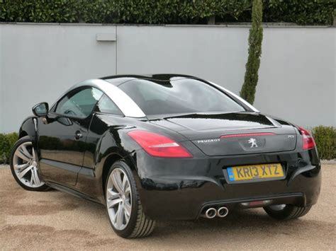 peugeot rcz black used nera black peugeot rcz for sale dorset