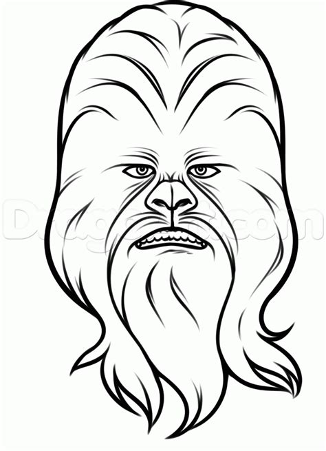 How To Draw Easy Star Wars Drawing Sketch Coloring Page sketch template