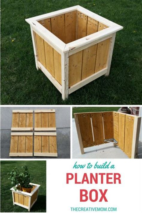 Do It Yourself Planter Box by How To Build A Planter Box And Easy Beginner Build