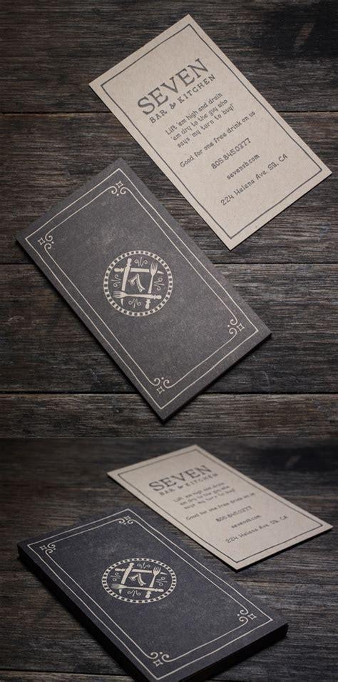 Vintage Look Cards - sophisticated vintage style letterpress business card for