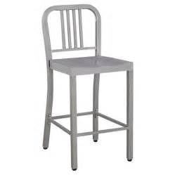 low back 24 quot counter stool metal silver ace bayou target