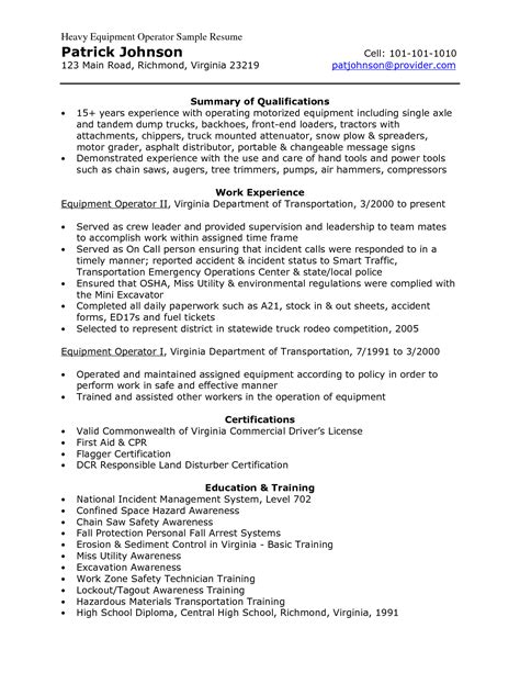 Crane Mechanic Sle Resume by Heavy Equipment Mechanic Resume Sales Mechanic Lewesmr
