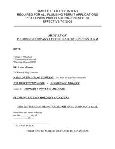 Letter Of Intent General Contractor Best Photos Of General Letter Of Intent Sle Letter Of